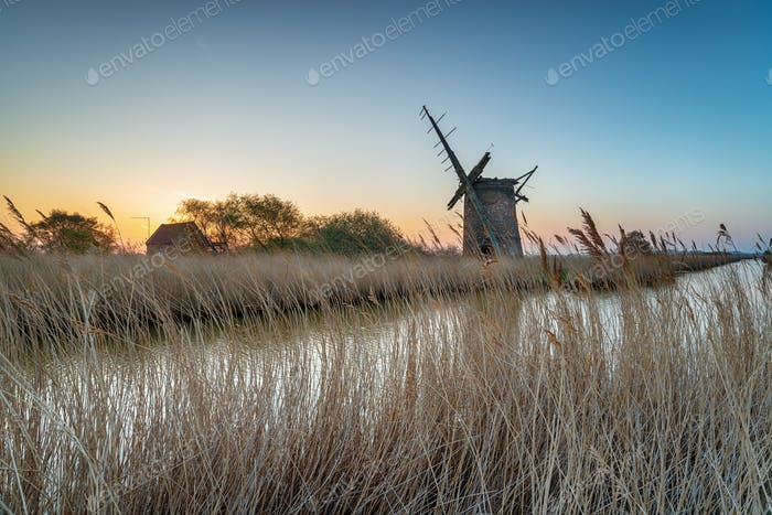 Brograve Windmill in Norfolk