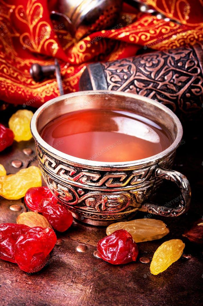 Tea in arab style