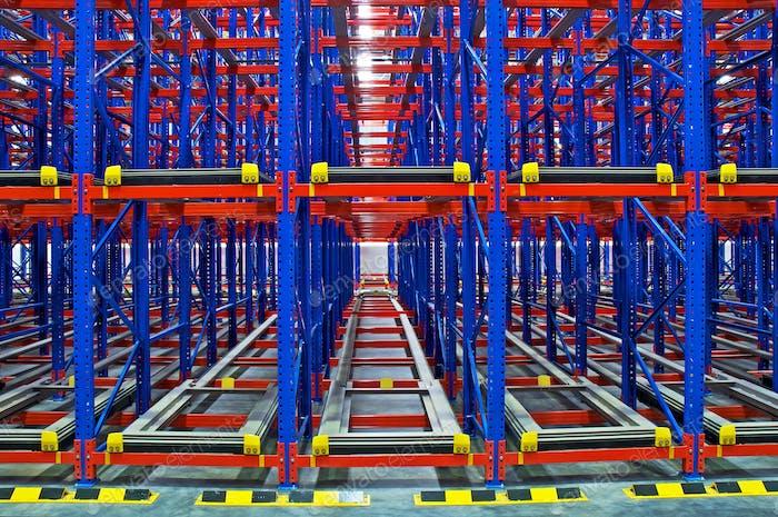 Warehouse storage, rack systems