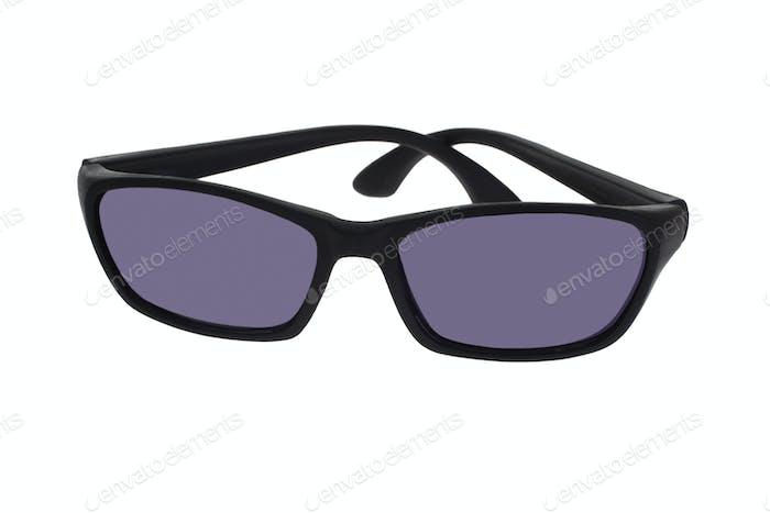 Black plastic toy spectacles
