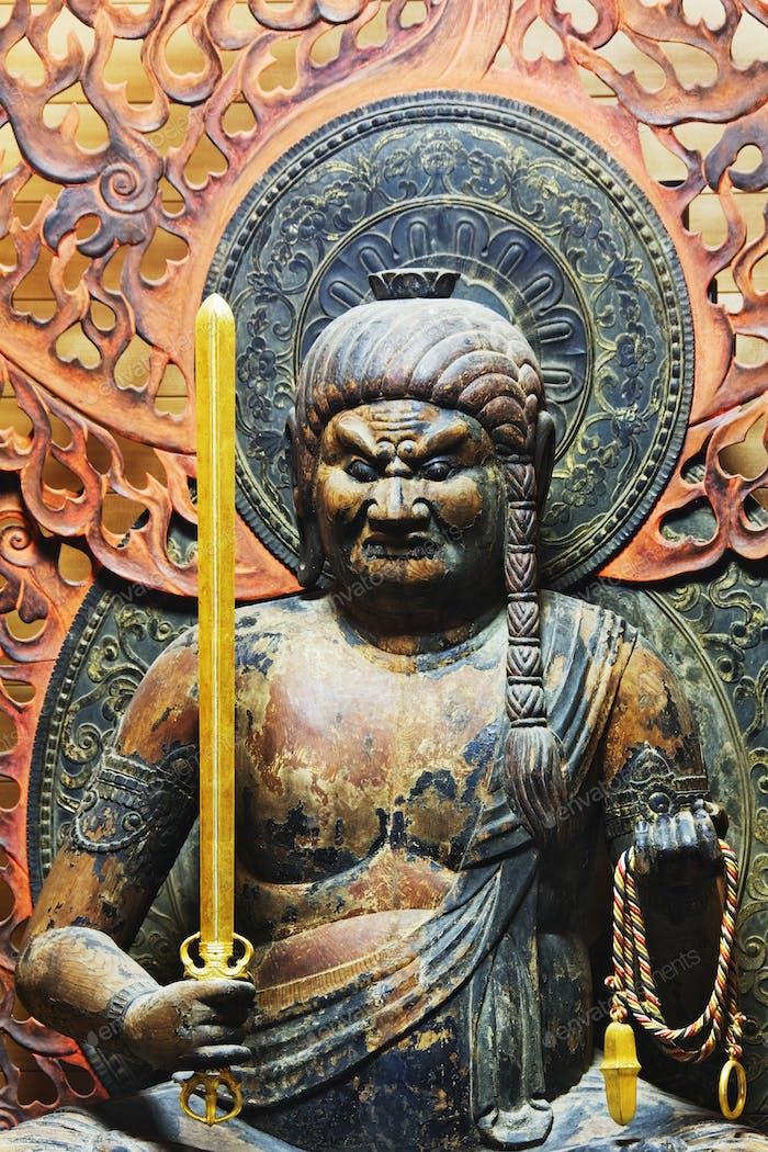 Statue von Fudo Myo-o
