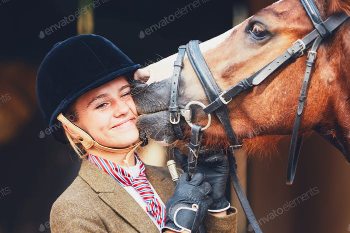 Bond between horse and rider