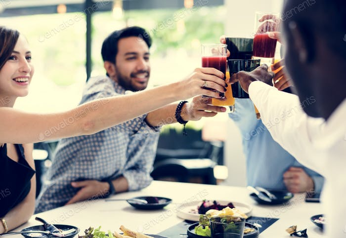 A toast to celebrate friendship