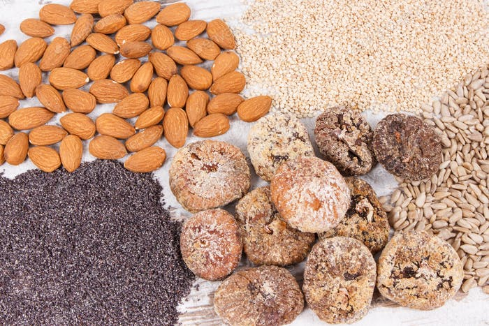 Natural ingredients as source calcium, vitamins, minerals and fiber