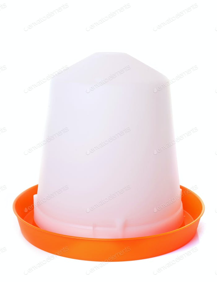 orange chicken feeder