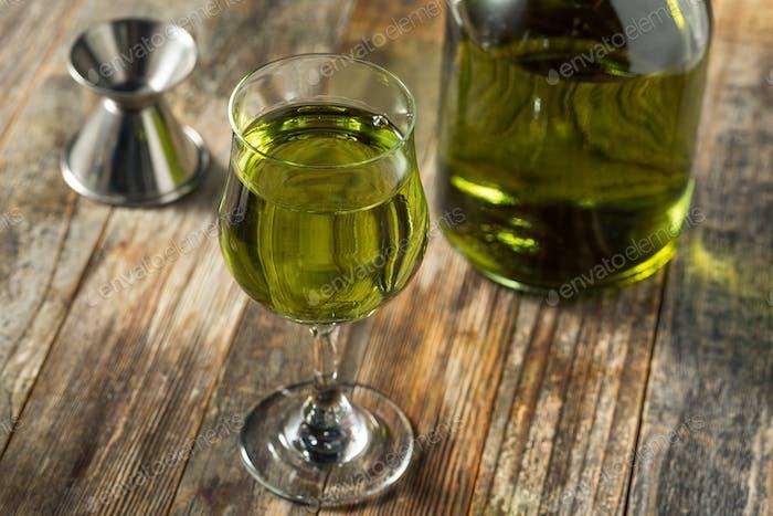 Organic Green Chartreuese Liqueur