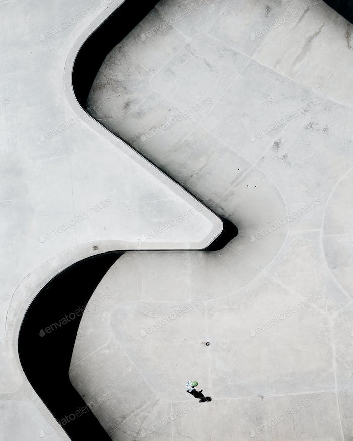 Skatepark from Above