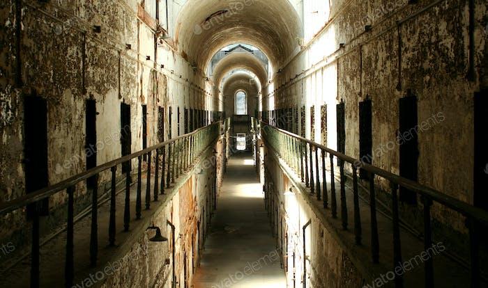 Prison cellblock