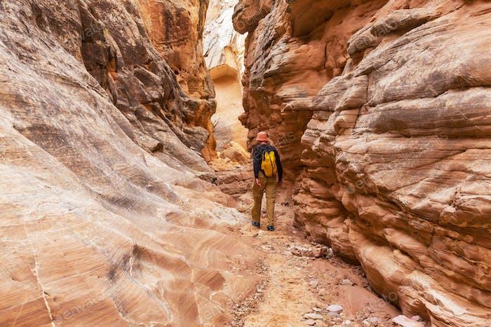 Thumbnail for Slot canyon