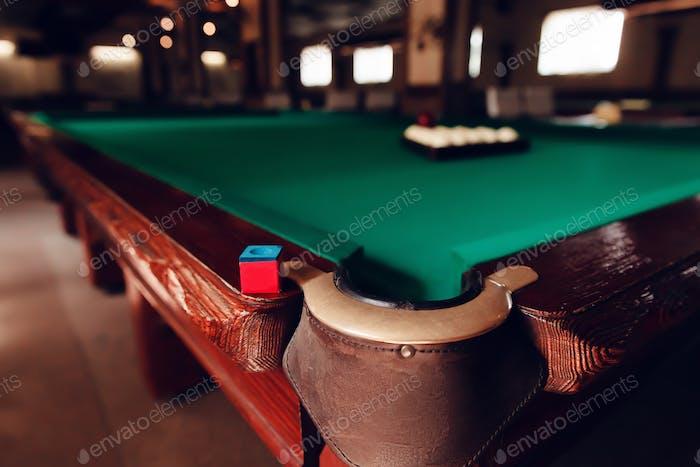 Billiard pocket