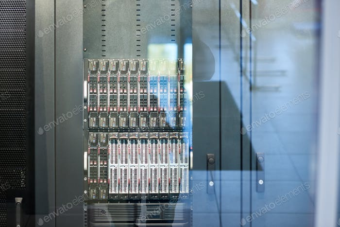 Modern Server Cabinet