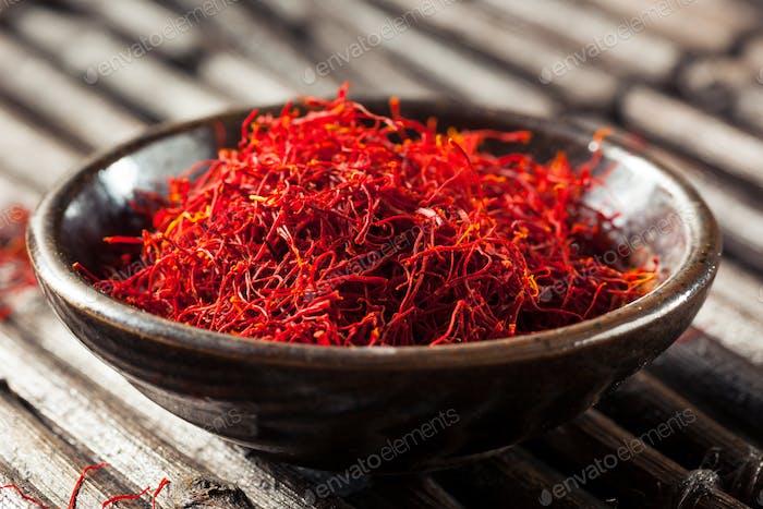 Raw Bio Red Safran Gewürz