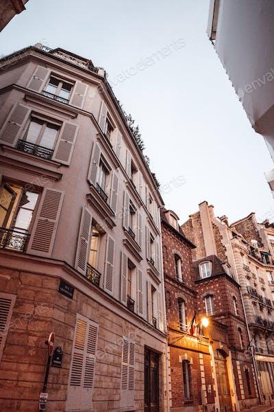 Urban scene in Paris, France