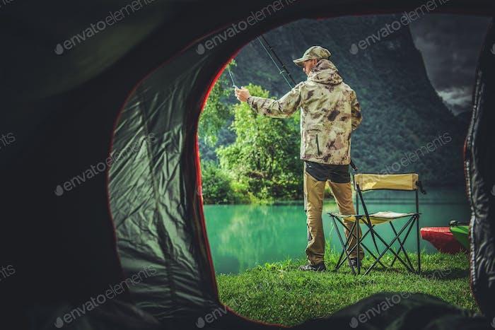 Fishing Camping Weekend