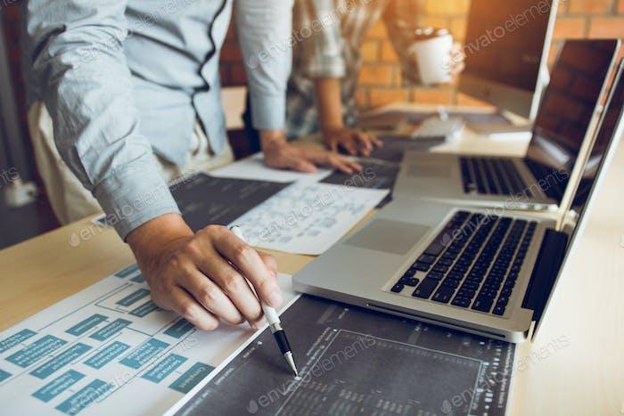El desarrollador de software señala que el documento trabaja y analiza juntos el código escrito.