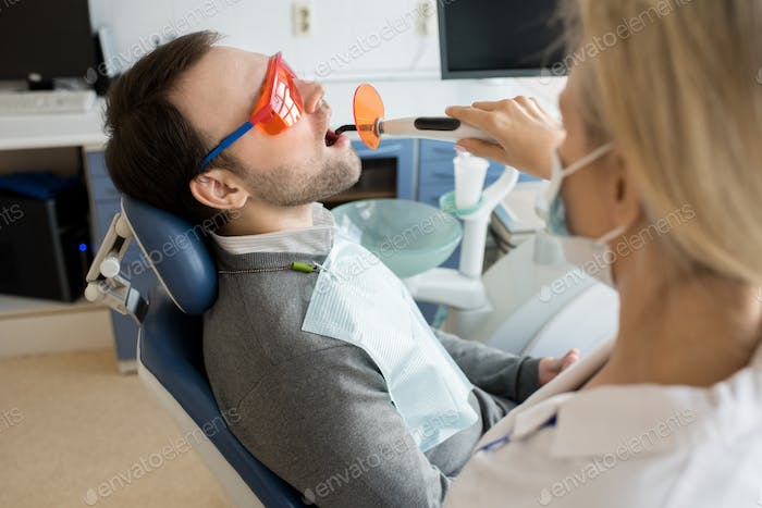 Laser Treatment in Dental Clinic