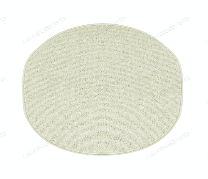 carpet isolated on white background