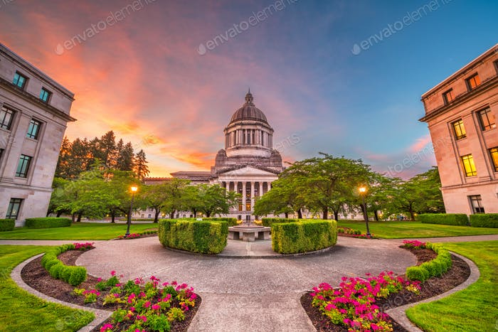 Olympia, Washington, USA State Capitol