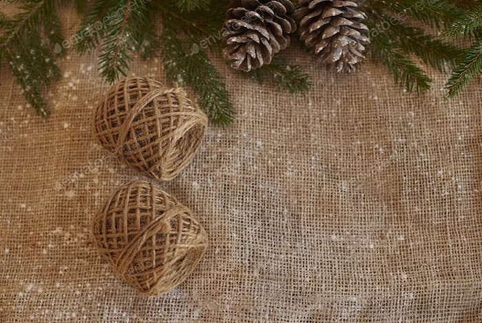 Picture of homemade Christmas decoration