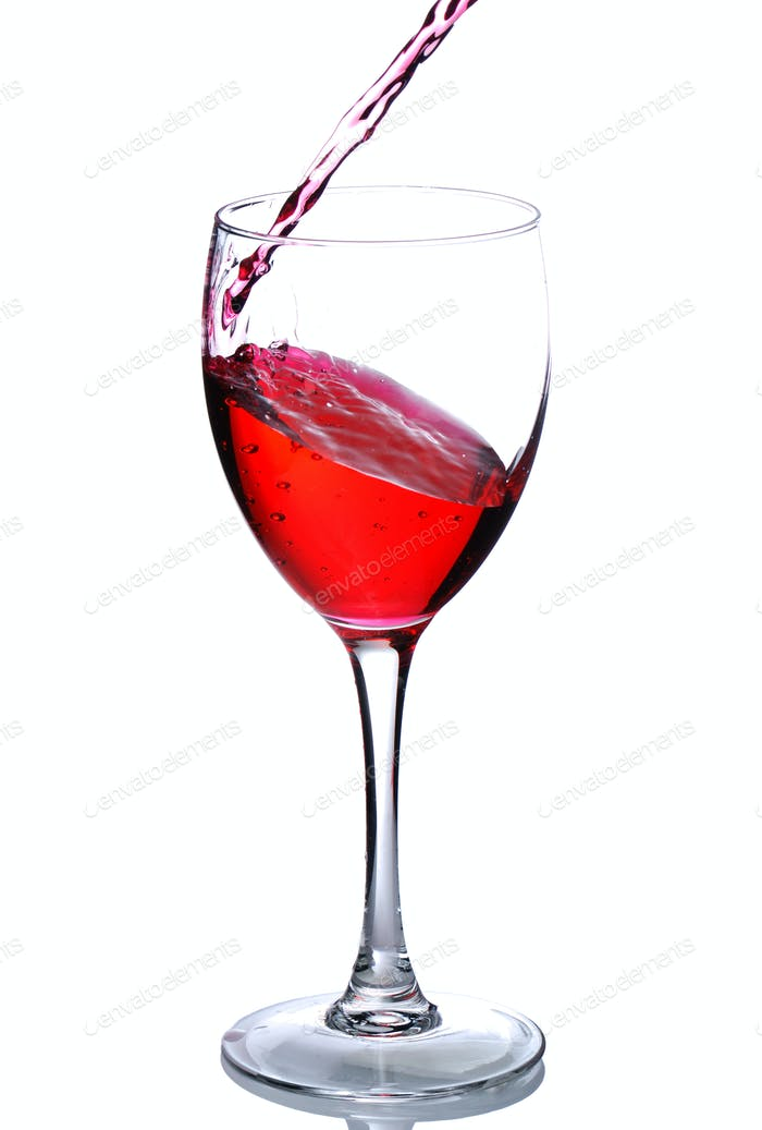 Pouring wine