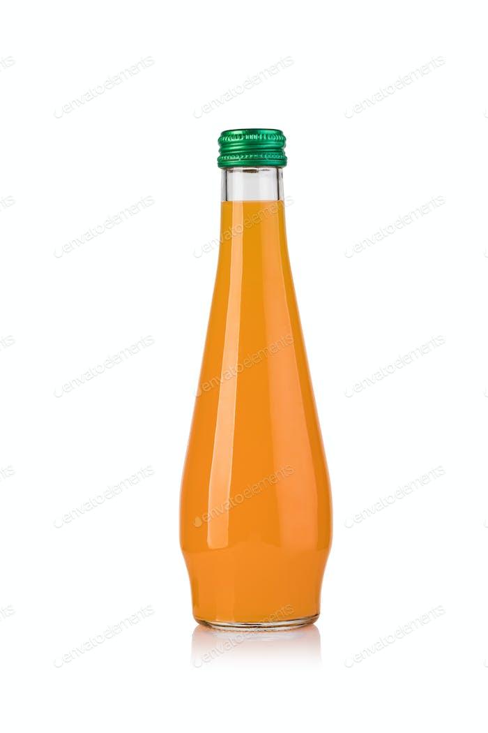 Fruchtsaft in Flaschen