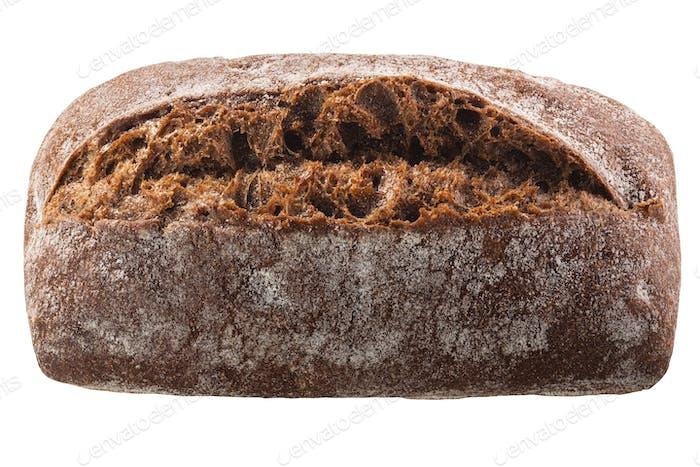 Whole grain rye bread, paths, top