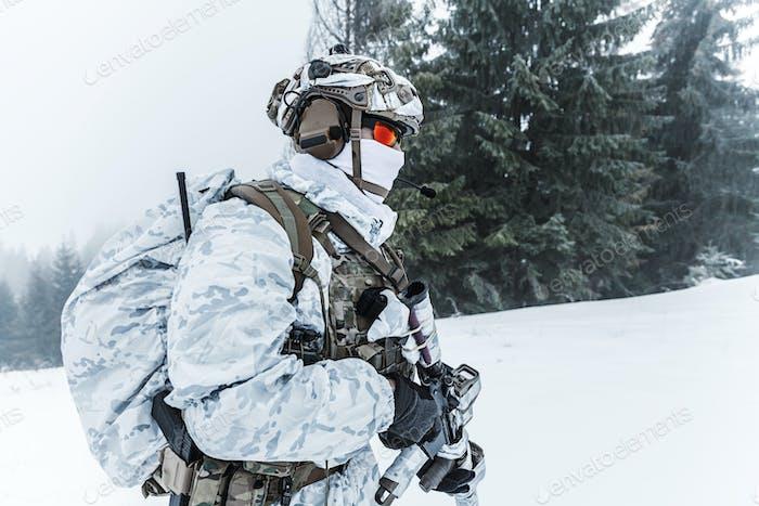 Winter arktische Kriegsführung
