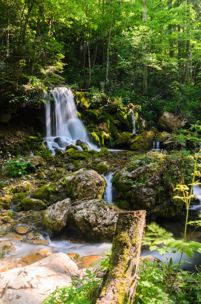 Waterfalls in Styria nature reserve