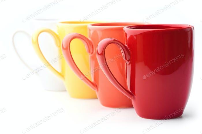 Bright mugs