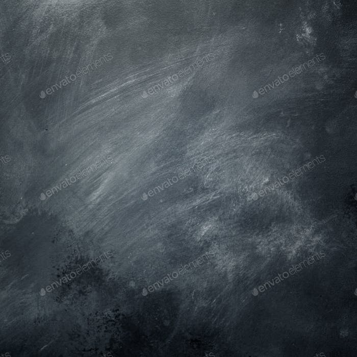 School blackboard background with copy space