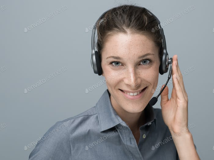 Call center and customer support operator