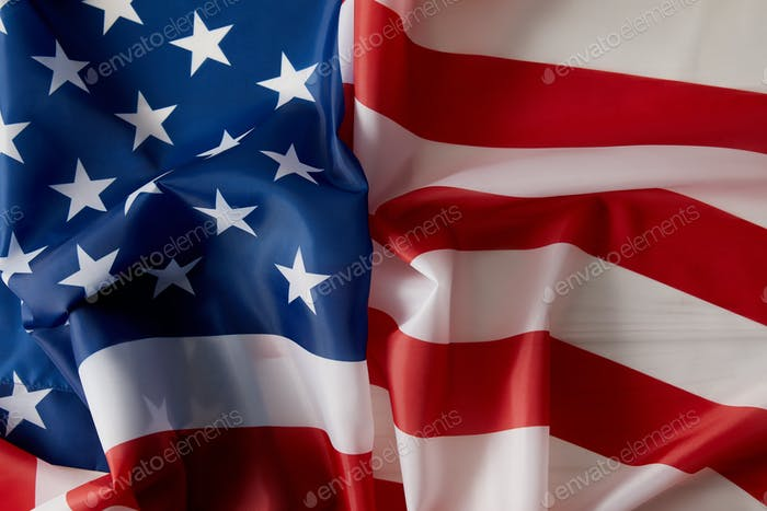 Imagen de marco completo del fondo de la bandera de los Estados Unidos