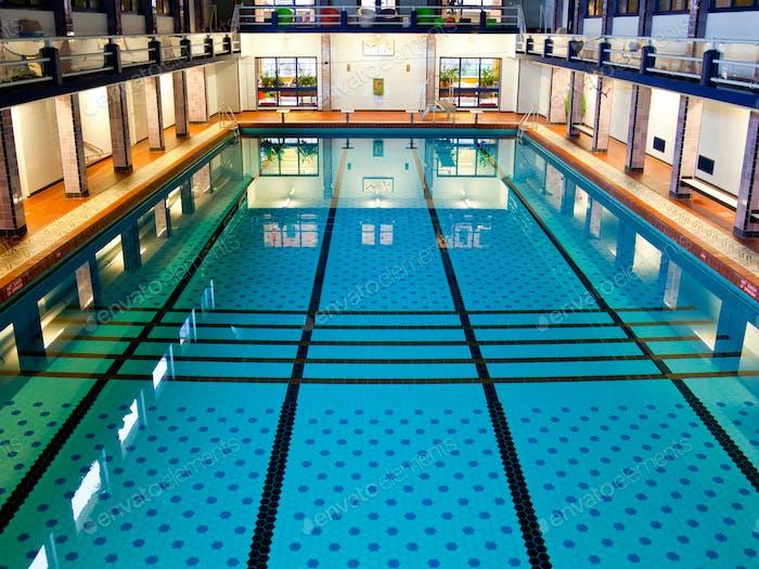 Big Indoor Swimming Pool