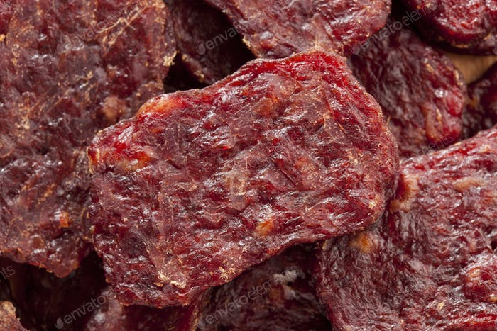 Dried Processed Beef Jerky