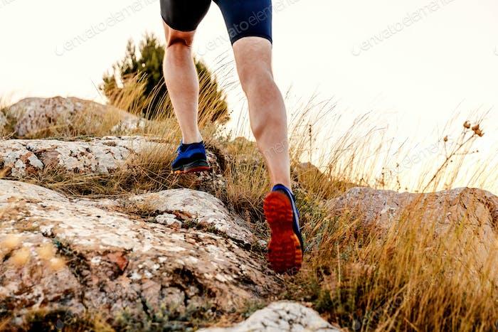 legs men runner athlete