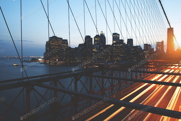 Brooklyn Bridge Landmark Architecture Metropolitan Concept
