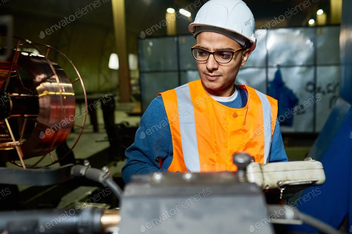 Young Factory Worker