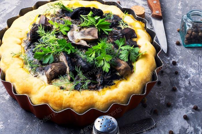 Thumbnail for Autumn mushroom pie