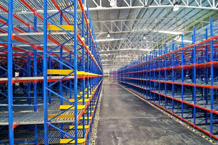 Warehouse Storage, Shelving Rack System