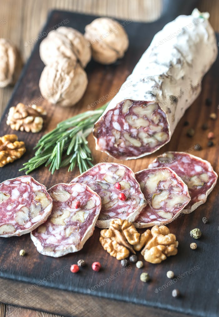 Walnut salami