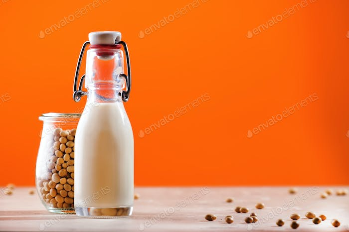 Soy milk and soy bean