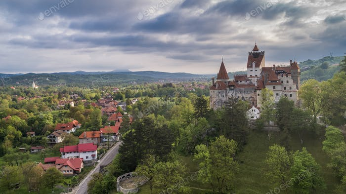 Mittelalterliches Schloss Bran. Brasov Siebenbürgen, Rumänien