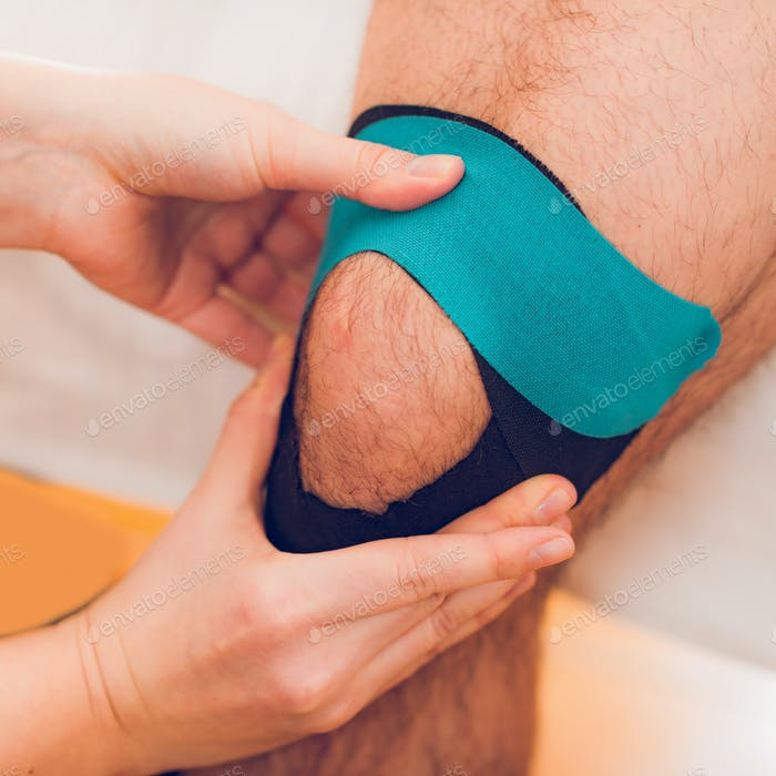 Kinesio taping for knee pain
