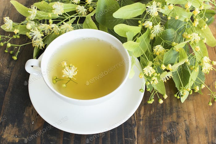 Linden Tea with Flowers Lime