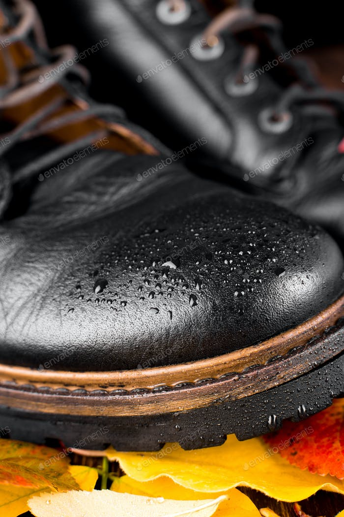 Waterproof  Black boots