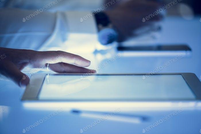 Digitale Tablette