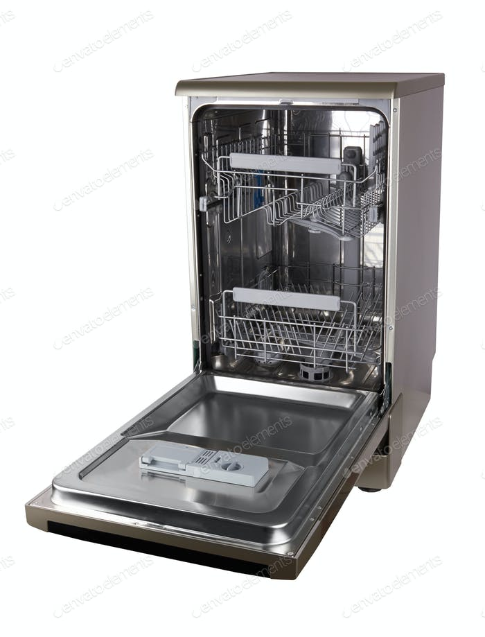 Dishwasher machine isolated