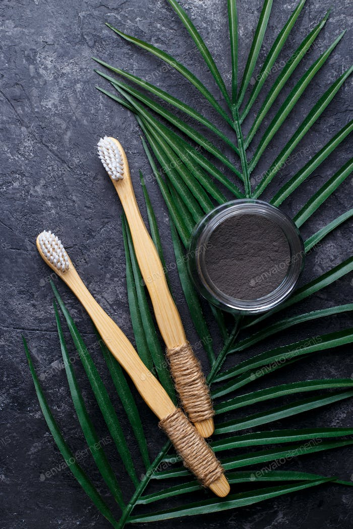 Bamboo tooth brushes