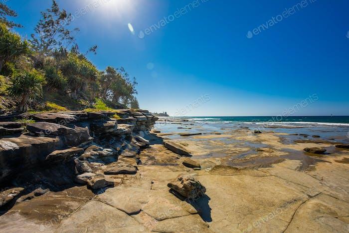 Shelly Beach at Caloundra, Sunshine Coast, Queensland