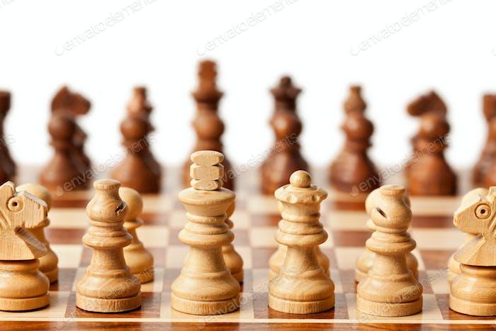 Schach - Beginn des Spiels